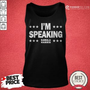 Mr Vice President I'm Speaking Tank Top - Desisn By Pondertee.com