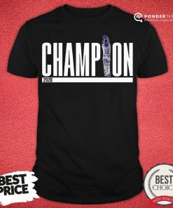 Official Champions Los Angeles Dodgers 2020 Shirt - Desisn By Pondertee.com