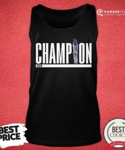 Official Champions Los Angeles Dodgers 2020 Tank Top - Desisn By Pondertee.com