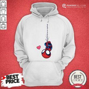 Official Spiderman Chibi Love Hoodie