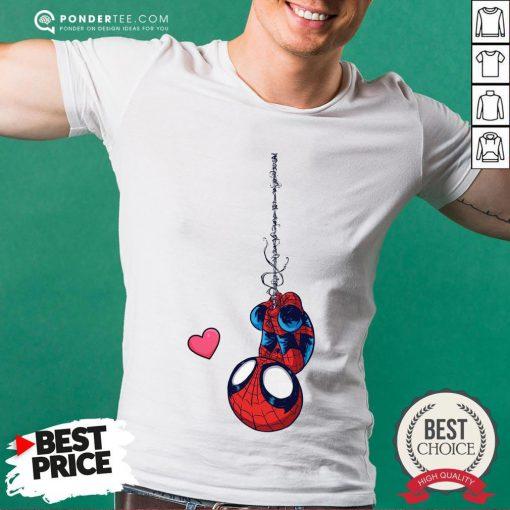 Official Spiderman Chibi Love Shirt