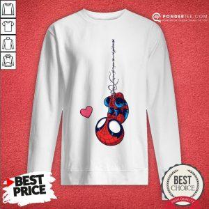 Official Spiderman Chibi Love Sweatshirt