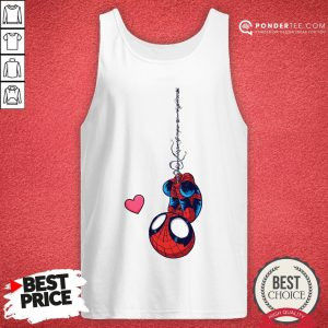Official Spiderman Chibi Love Tank Top