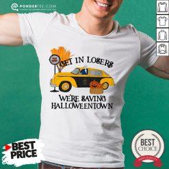 Original Benny Taxi Driver Get In Losers We're Saving Halloweentown Shirt - Desisn By Pondertee.com