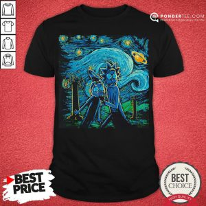 Rick And Morty The Scream Painting Shirt - Desisn By Pondertee.com