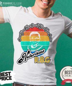 Speak Your Mind Even If Your Voice Shakes RBG Vintage Shirt- Desisn By Pondertee.com