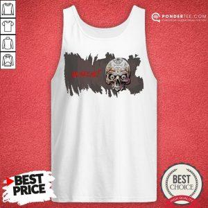 Sugar Skull You See Me Happy Halloween Tank Top - Desisn By Pondertee.com