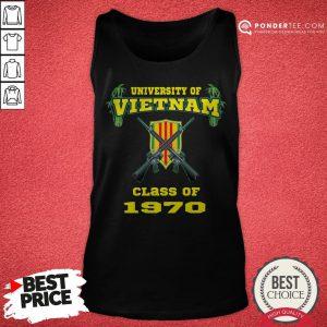 University Of Vietnam Class Of 1970 Tank Top - Desisn By Pondertee.com