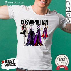Vogue Disney Villains Evil Cosmopolitan Shirt - Desisn By Pondertee.com