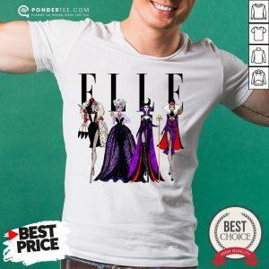 Vogue Disney Villains Evil Elle Shirt - Desisn By Pondertee.com