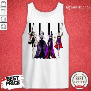 Vogue Disney Villains Evil Elle Tank Top - Desisn By Pondertee.com