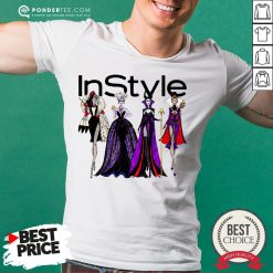 Vogue Disney Villains Evil Instyle Shirt - Desisn By Pondertee.com