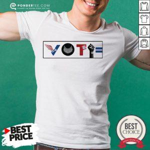 Vote For Liberty RBG Peace BLM Equality Shirt - Desisn By Pondertee.com