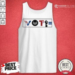 Vote For Liberty RBG Peace BLM Equality Tank Top - Desisn By Pondertee.com