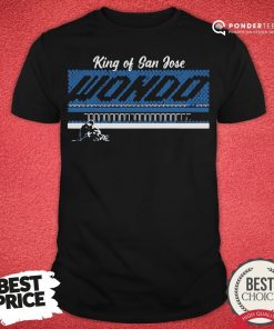 Good Chris Wondolowski Wondo King Of San Jose Shirt - Desisn By Pondertee.com