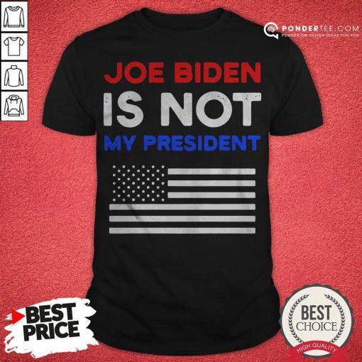 Good Joe Biden Is My President American Flag Vintage Shirt - Desisn By Pondertee.com