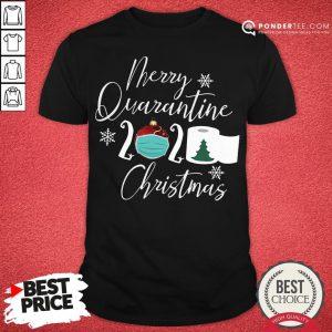 Good Merry Quarantine 2020 Toilet Paper Christmas Tree Shirt- Desisn By Pondertee.com