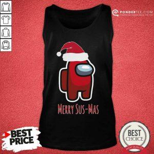 Among Us Meey Sus-Mas Christmas Tank Top - Desisn By Pondertee.com