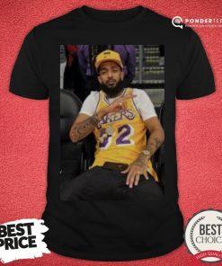 Happy Nipsey Lakers Shirt - Desisn By Pondertee.com