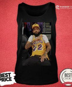 Happy Nipsey Lakers Tank Top - Desisn By Pondertee.com