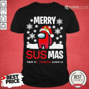 Among Us Merry Sus-Ma Christmas Shirt - Desisn By Pondertee.com