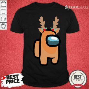 Nice Among Us Reindeer Christmas 2020 Shirt - Desisn By Pondertee.com