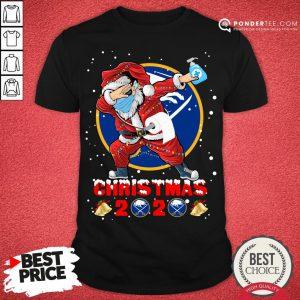 Nice Buffalo Sabres Funny Santa Claus Dabbing Christmas 2020 Shirt - Desisn By Pondertee.com