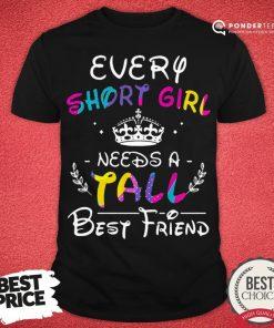 Nice Every Short Girl Needs A Fall Best Friend Shirt - Desisn By Pondertee.com