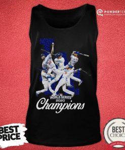 Nice Los Angeles Dodgers 2020 World Series Champions Tank Top - Desisn By Pondertee.com
