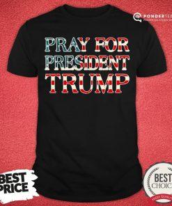 Nice Pray For Trump Peace And Love 2020 Shirt - Desisn By Pondertee.com