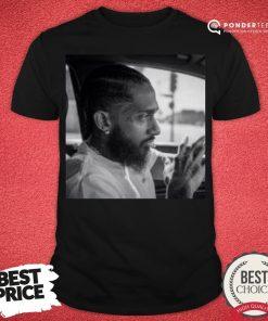 Official Nipsey Hussle Shirt - Desisn By Pondertee.com