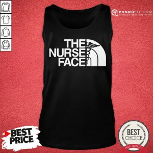 Official The Nurse Face Gift Tank Top - Desisn By Pondertee.com