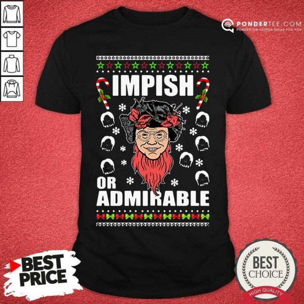 Belsnickel Impish Or Admirable Ugly Christmas Shirt - Desisn By Pondertee.com