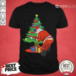 Gay Santa Funny Christmas LGBT Santa Claus Shirt - Desisn By Pondertee.com