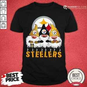 Pittsburgh Steelers Gnomes Merry Christmas Shirt - Desisn By Pondertee.com