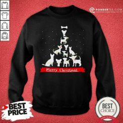 Chihuahua Merry Christmas Tree Sweatshirt - Desisn By Pondertee.com