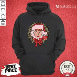 I Love Lucy Christmas Wreath Hoodie - Desisn By Pondertee.com