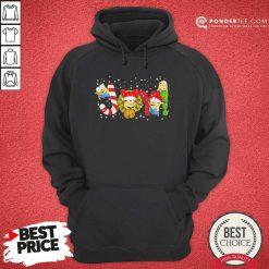 Minions Joy Christmas Hoodie - Desisn By Pondertee.com