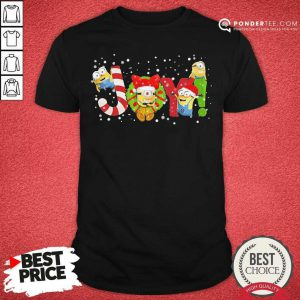Minions Joy Christmas Shirt - Desisn By Pondertee.com