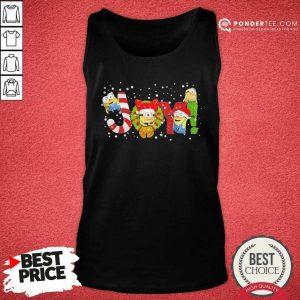 Minions Joy Christmas Tank Top - Desisn By Pondertee.com