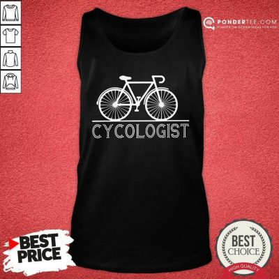 The Bicycle Cycologist Tank Top - Desisn By Pondertee.com