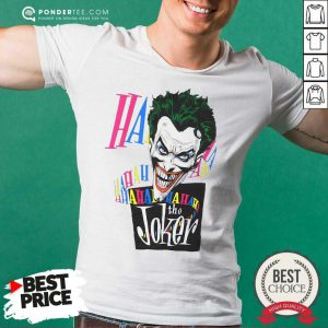 DC Joker Large Brian Bolland Art White 1987 Vintage Shirt - Desisn By Pondertee.com