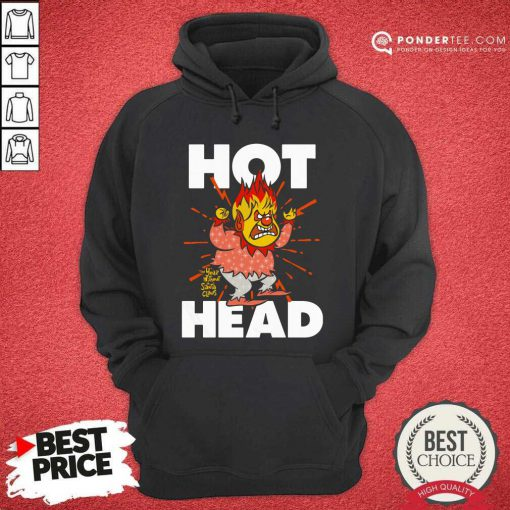 Heat Miser Hot Head The Year Without A Santa Claus Hoodie - Desisn By Pondertee.com
