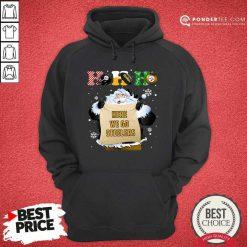 Pittsburgh Steelers Ho Ho Ho Santa Here We Go Steelers Merry Christmas Hoodie - Desisn By Pondertee.com