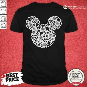 Mickey Mouse Halloween Ghost Pumpkin Shirt - Desisn By Pondertee.com