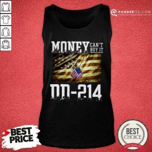 Money Can't Buy It DD-214 American Flag Tank Top - Desisn By Pondertee.com