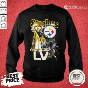 Pittsburgh Steelers Super Bowl Liv Signature Sweatshirt - Desisn By Pondertee.com