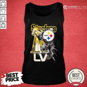 Pittsburgh Steelers Super Bowl Liv Signature Tank Top - Desisn By Pondertee.com