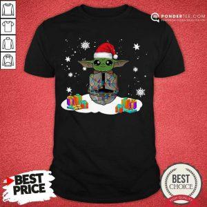Santa Baby Yoda Merry Christmas Gift Shirt - Desisn By Pondertee.com
