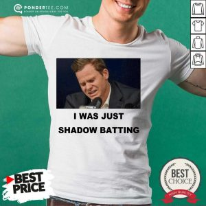 Awesome Steve Smith Just Shadow Batting 56 Shirt